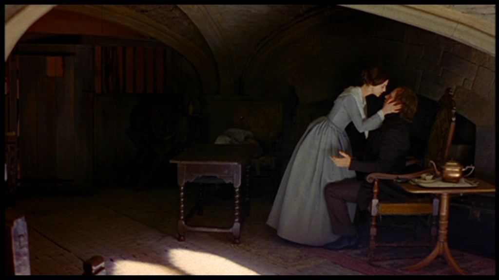 Jane kisses the blind Rochester in the 1996 version